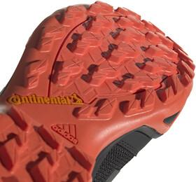adidas TERREX AX3 Scarpe da trekking Leggero Uomo, core blackcarbonactive orange
